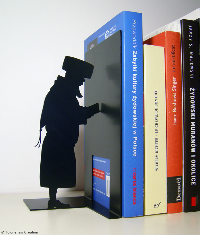 Bookend Judaica HASIDIC