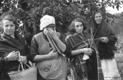 Femmes sur la scène du drame - Varsovie septembre 1939 - Photo IPN/Julien Bryan
