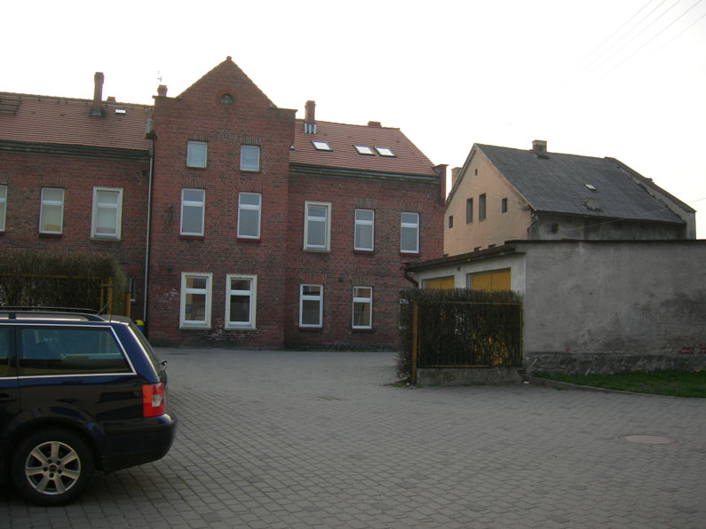 The location of the former synagogue of Ujasd (Ujest)