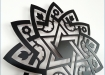 Décoration murale - Wall ornament - MAGEN DAVID © Tolonensis Creation