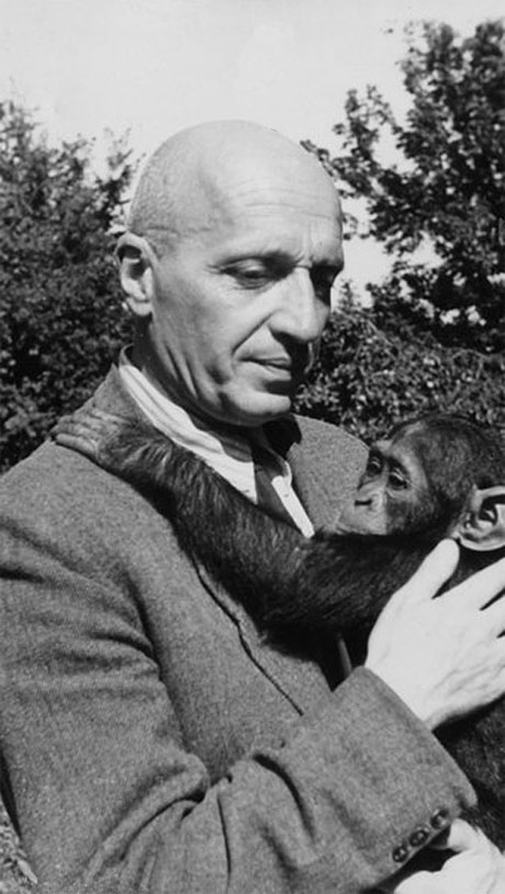 Jan Zabynski - Director of the zoo of Warsaw. Righteous among the Nations
