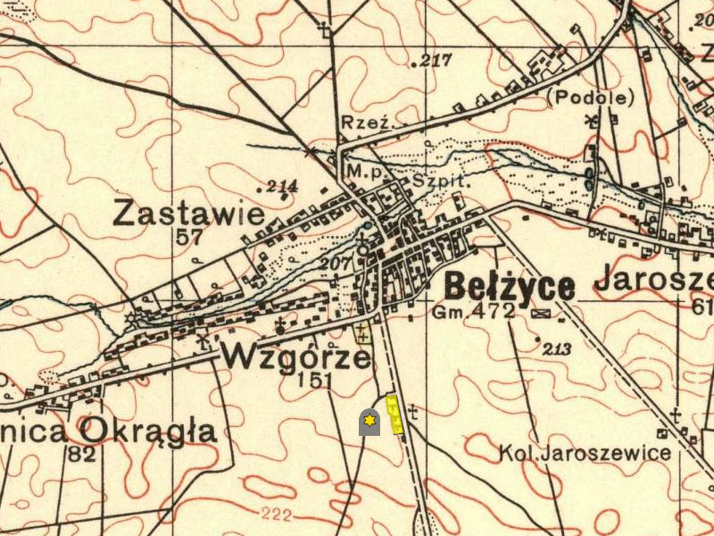old-map-of-the-jewish-cemetery-of-belzyce
