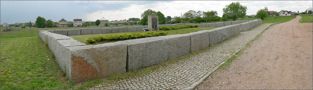 The memorial of the pogrom of Jedwabne