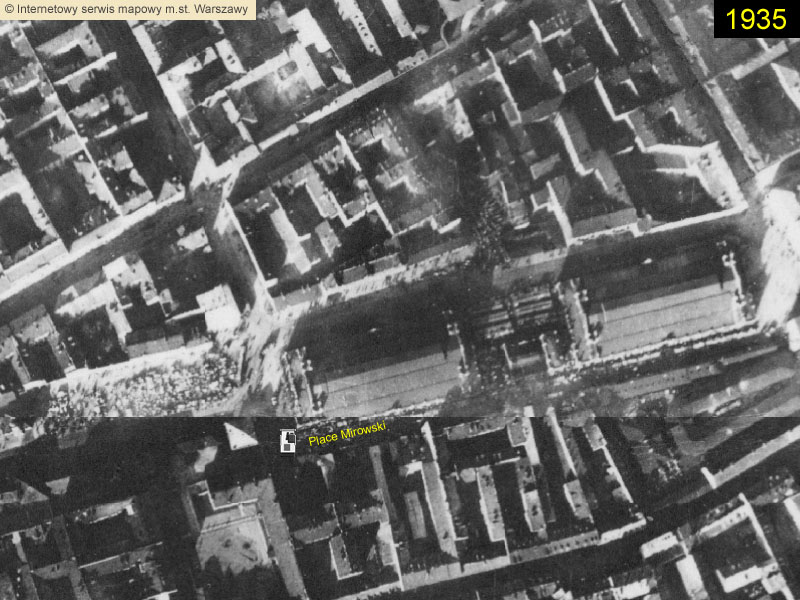 Ghetto de Varsovie: Place Mirowski - Warsaw ghetto: Mirowski square