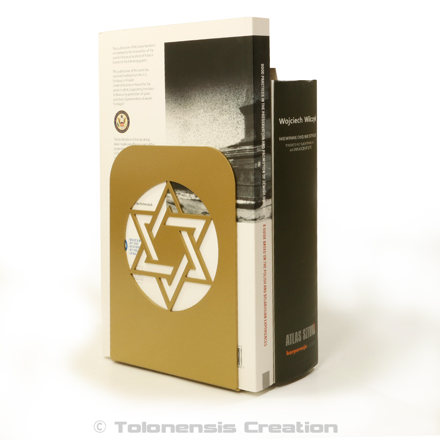 Serre-livres / Bookend Magen David