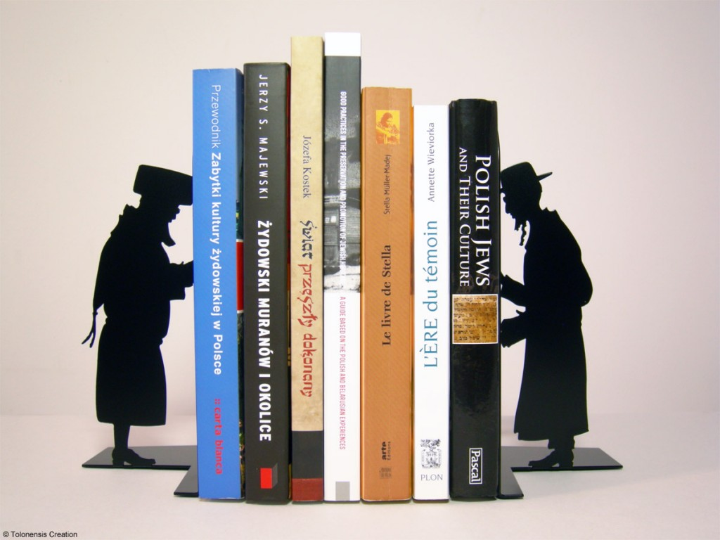 Serre-livres Bookend Judaica Hasidic & Orthodox © Tolonensis Creation